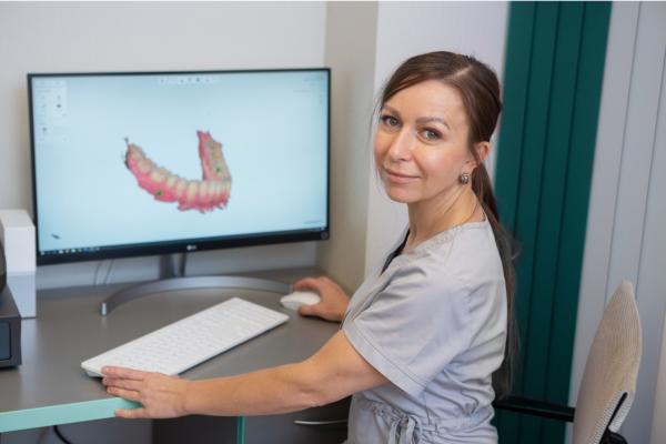 3D shape zobārstniecības skeneris