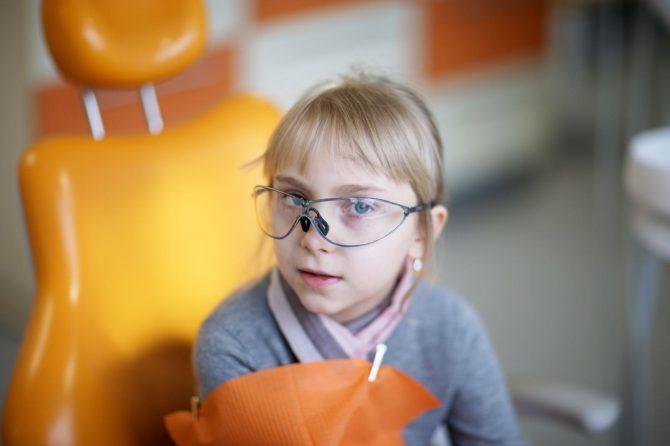 Bērnu zobu kopšana